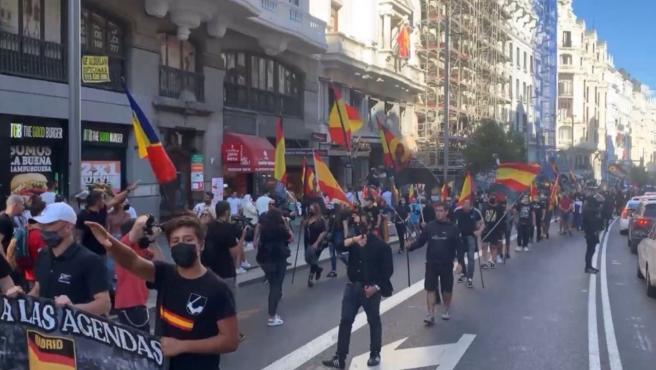 La Fiscalía abre diligencias por la manifestación neonazi en Chueca contra el colectivo LGTBI