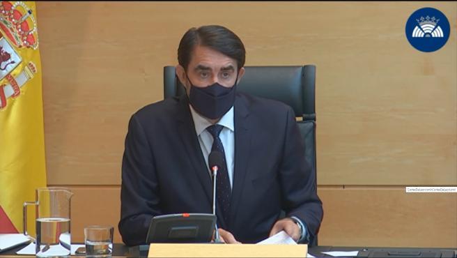 Suárez-Quiñones asegura el fuego de Navalacruz tuvo las peores circunstancias y la realidad superó las previsiones