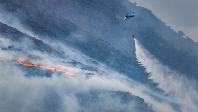 El incendio en Sierra Bermeja centrará el pleno de la Diputación de Málaga de este miércoles