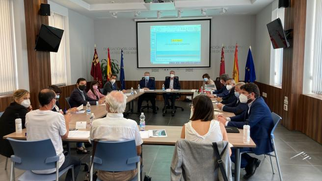 El Ministerio de Transición Ecológica prevé destinar 60 millones de euros a la regeneración de la bahía de Portmán