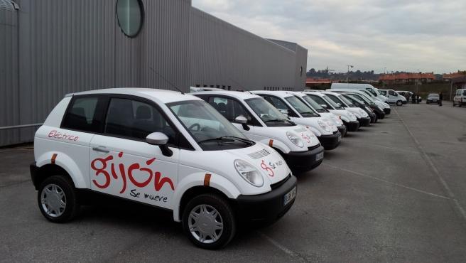 La flota municipal eléctrica, compartida con la ciudadanía, contará con 43 vehículos a partir de enero de 2022