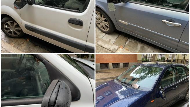 Policía Local de Logroño denuncia a dos personas por romper los retrovisores de cuatro vehículos