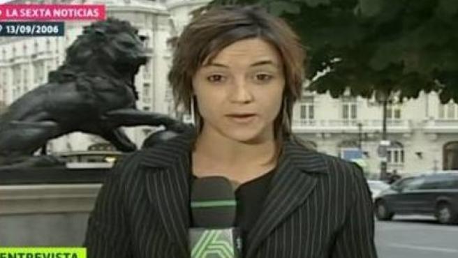 Cristina Pardo en 'laSexta Noticias'.