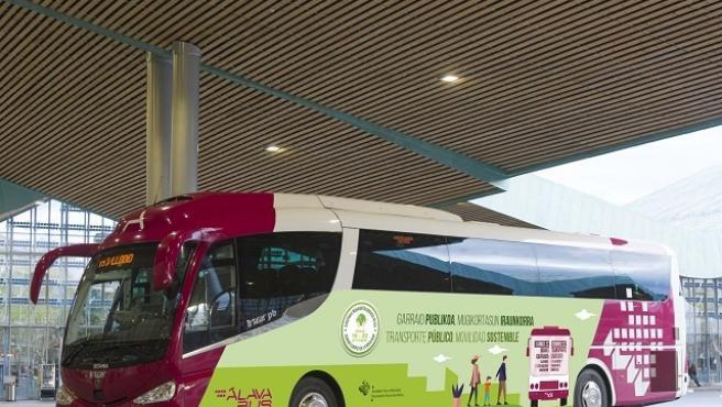 El servicio foral de transporte será gratuito este miércoles en Álava para celebrar el 'Día Europeo sin Coches'