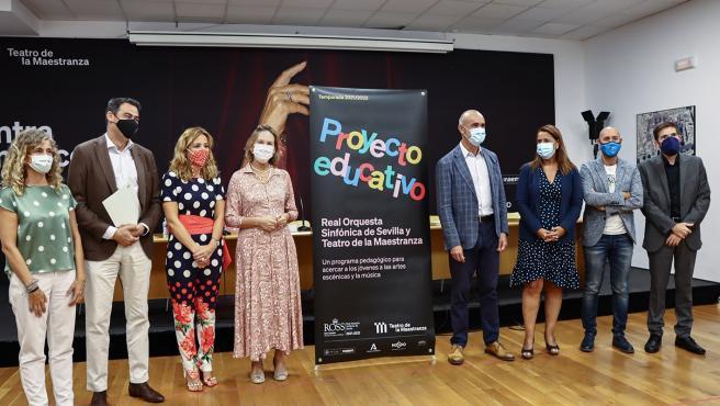 ROSS y Teatro de la Maestranza colaboran por primera vez en programas educativos y para familias