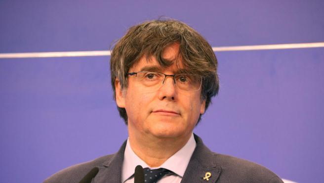 El expresidente de la Generalitat Carles Puigdemont ha sido detenido en Cerdeña por las autoridades italianas por la orden de búsqueda y captura del Tribunal Supremo. (Fuente: Europa Press, Ruptly, EBS,)