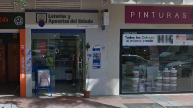 Administración de Loterías nº 2 de Estepona, Málaga.