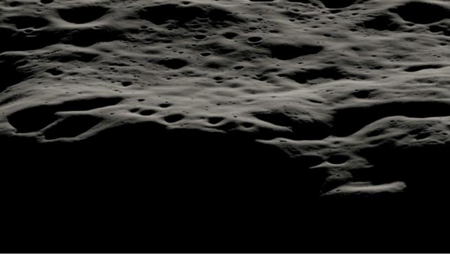 El cráter Nobile se sitúa en la zona Sur de la Luna y se caracteriza por ser sombrío y frío.