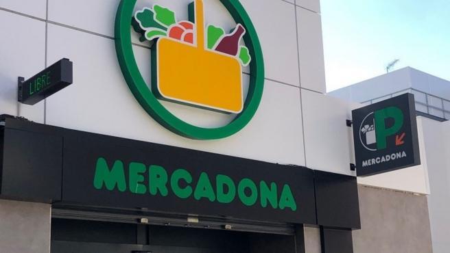 Imagen de un supermercado Mercadona.