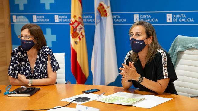 11,00 h.-            A conselleira de Infraestruturas e Mobilidade, Ethel Vázquez, e a directora de Augas de Galicia, Teresa Gutiérrez, participarán nun webinario para presentarlles aos concellos e outras administraci