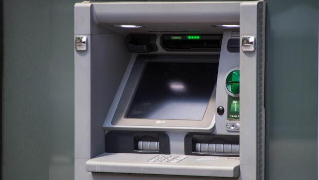 Un cajero automático.