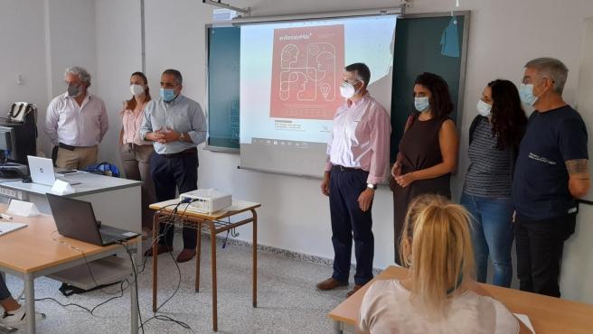 La Diputación lleva a Álora un nuevo curso de formación para el empleo de colectivos vulnerables