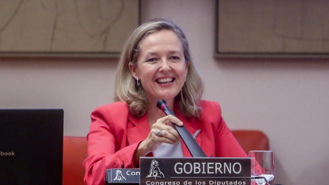 La vicepresidenta primera del Gobierno y ministra de Asuntos Económicos y Transformación Digital, Nadia Calviño.
