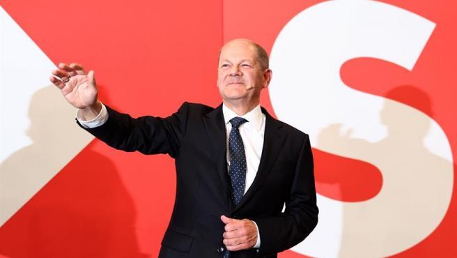 El candidato a la cancillería de Alemania por el SPD, Olaf Scholz.