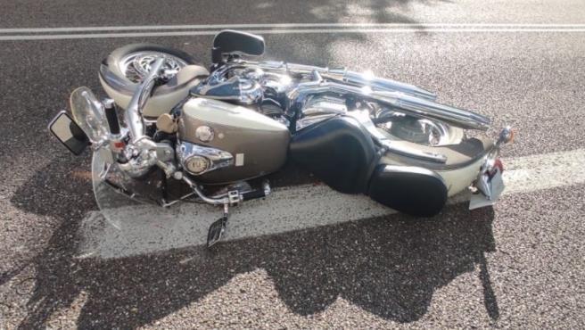 El conductor de un turismo da positivo en drogas tras colisionar con una motocicleta en Valladolid