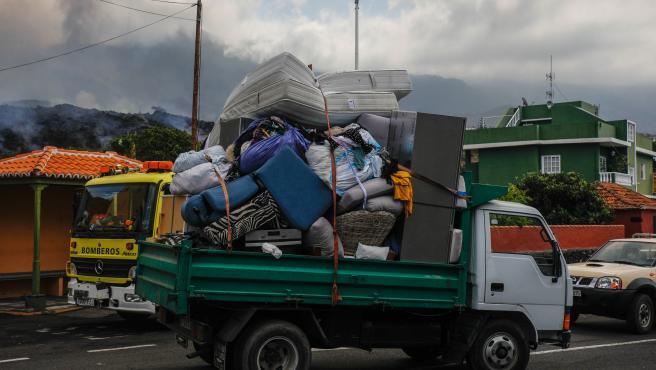 Prohíben el acceso a zonas evacuadas en La Palma para recoger enseres