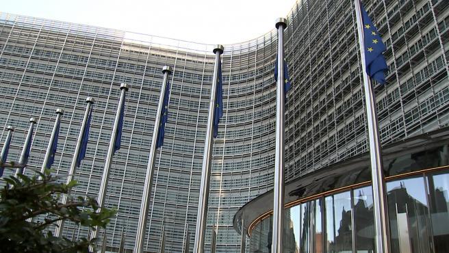 Exteriores de la Comisión Europea en Bruselas