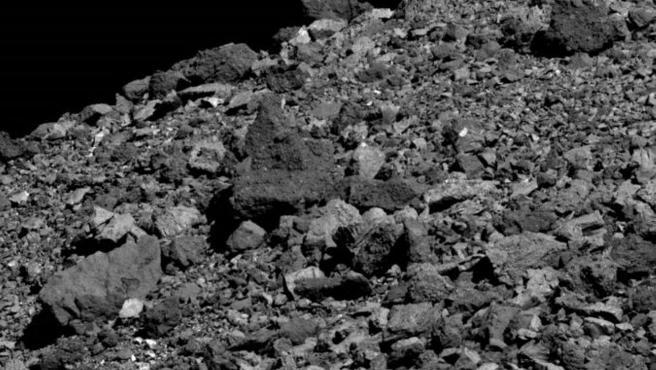 Muestra de rocas lunares