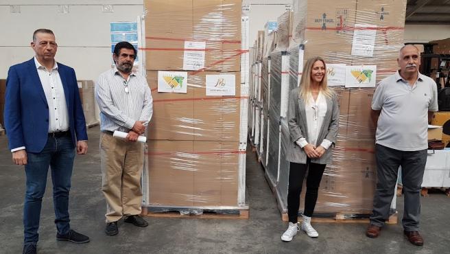 Una asociación de jubilados de Ciudad Real promueve el segundo mayor envío de ayuda de España a La Palma