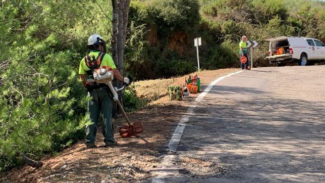 La Diputación licitará las obras de mejora de la seguridad vial en la CV-1486 que une Cabanes y Oropesa