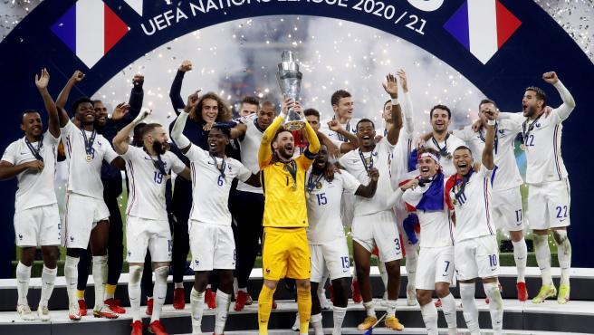 Francia, campeona de la Nations League