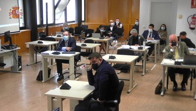 Tribunales- El miércoles terminan las declaraciones de los acusados en el juicio por el incendio de Chiloeches