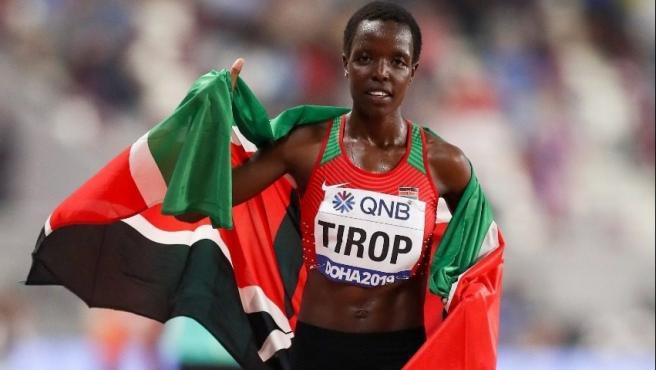 La atleta Agnes Jebet Tirop.