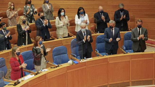 Alberto Nuñez Feijóo en el Debate Estado Autonomía