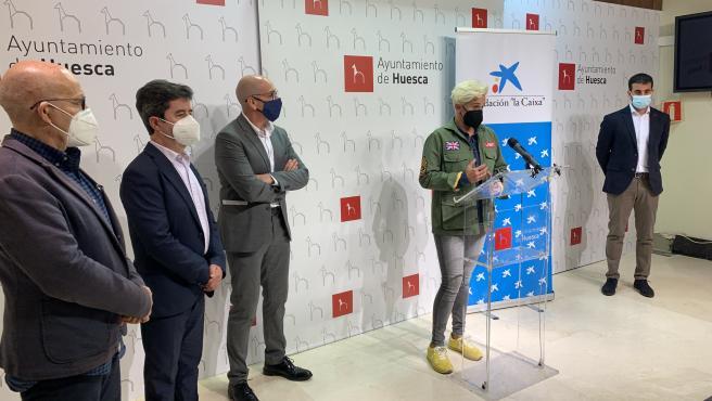 Ayuntamiento de Huesca, CaixaBank y Fundación 'la Caixa' colaboran en un programa de hábitos de vida saludables