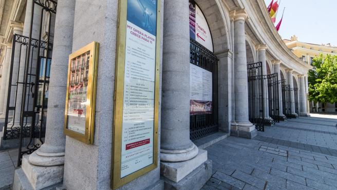 Coronavirus: The Teatro Real, prepares its facilities for the reopening