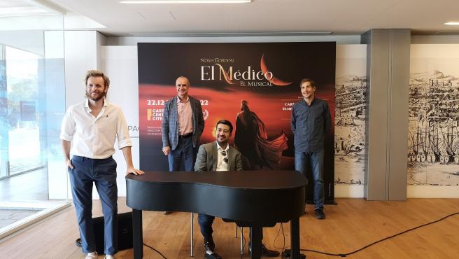 El musical 'El médico' comienza su gira nacional el 22 de diciembre en Sevilla