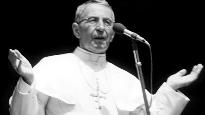 El papa Juan Pablo I.