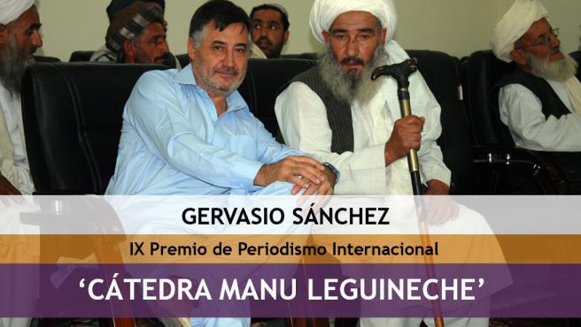 Gervasio Sánchez obtiene el IX Premio Internacional de Periodismo 'Cátedra Manu Leguineche'