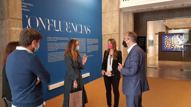 """La exposición """"Confluencias"""" se prorroga hasta final de octubre en el IAACC Pablo Serrano"""
