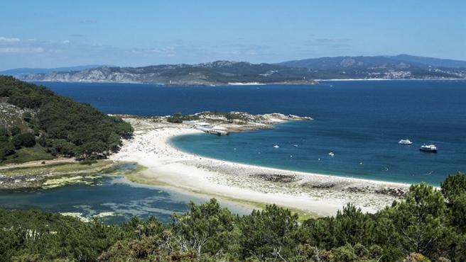 Playa de las islas cies desde el mirador