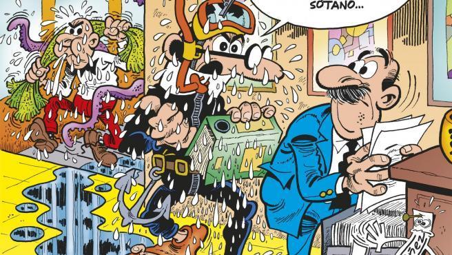 Portada de 'Mortadelo y Filemón: El cambio climático'.