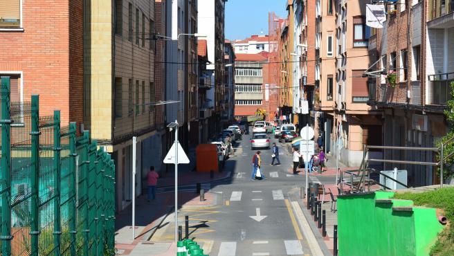 Sestao encarga un estudio para reurbanizar la calle Buenavista, potenciar el comercio y crear recorridos peatonales