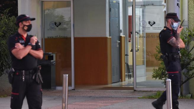 Tiroteo en la Facultad de Ciencias y Tecnología de la UPV/EHU en Bizkaia.