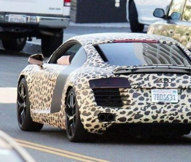 Audi leopardo de Justin Bieber