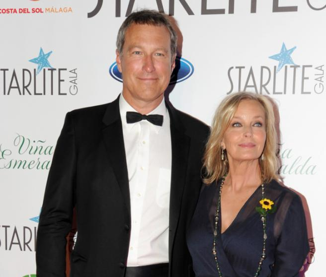 Bo Derek y John Corbett en la gala Starlite de Marbella en 2018
