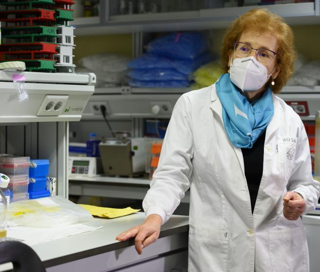 La viróloga Margarita del Val.