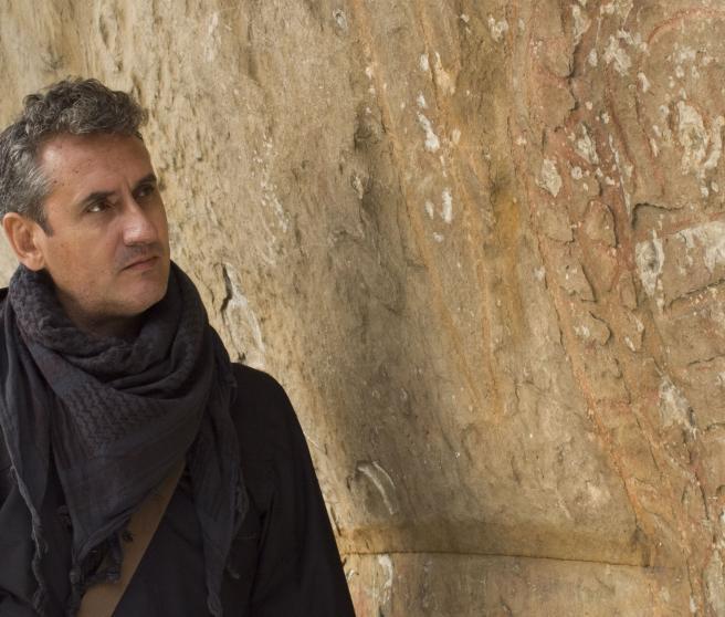 El escritor, periodista y divulgador Lorenzo Fernández Bueno, en el programa 'Extraterrestres: ellos están entre nosotros'.