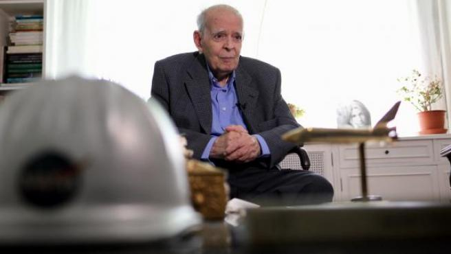 """Luis Ruiz de Gopegui: """"Pensé que ir a la Luna sería como el puente aéreo"""""""