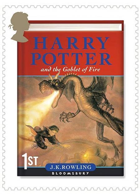 Foto: Harry Potter en los sellos postales | Fotos: La