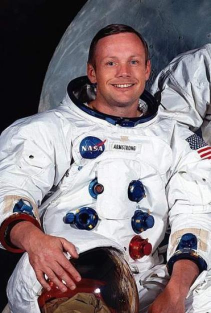 Foto: Armstrong, con sus compañeros | Armstrong, primer hombre en llegar a la Luna
