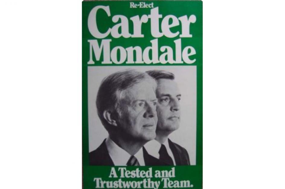 James Earl Carter, Jr es un político estadounidense del Partido Demócrata que fue el trigésimo noveno presidente de los Estados Unidos, entre 1977 y 1981.