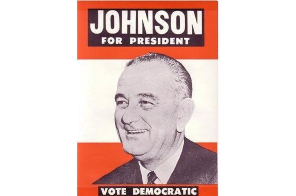 Lyndon Baines Johnson fue el trigésimo sexto presidente de Estados Unidos, que asumió el cargo tras el asesinato de su predecesor John F. Kennedy en 1963.