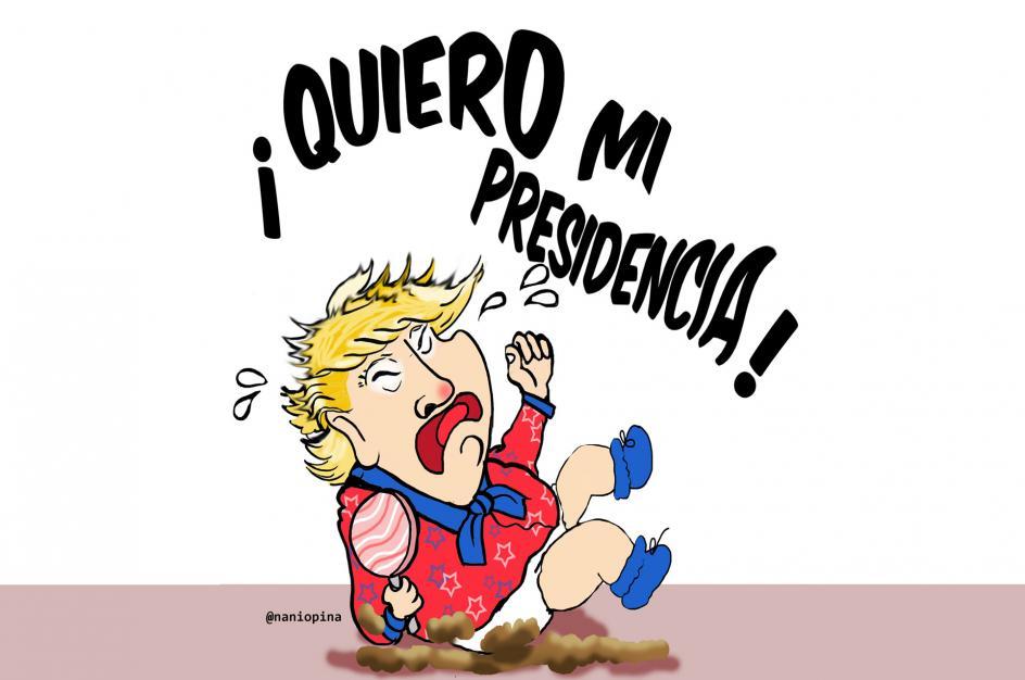 ¡Quiero mi presidencia!, por Nani