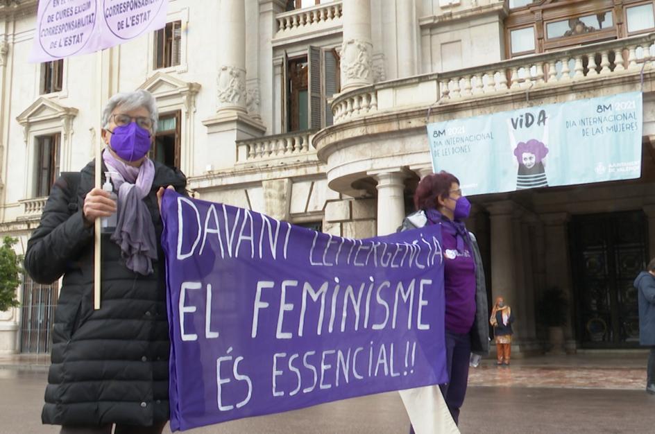 """Concentraciones en València por 8M piden """"igualdad de derechos"""""""