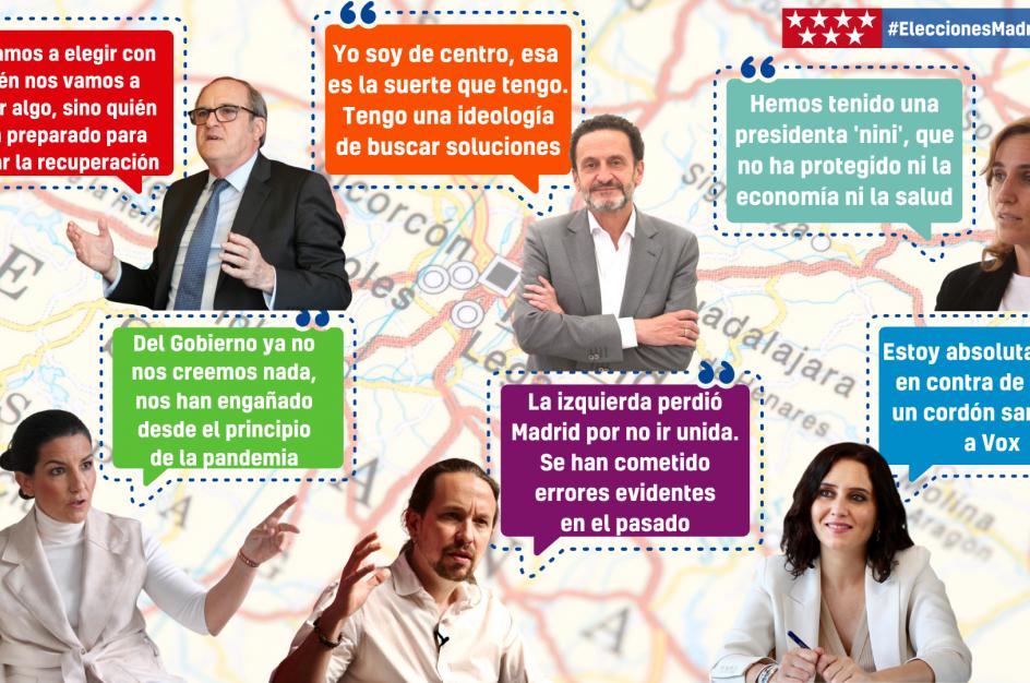 Las frases más polémicas de la campaña electoral en Madrid.